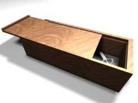 Collective wooden box